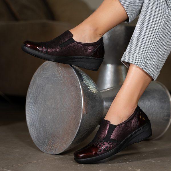 נעלי נוחות שילוב טקסטורות