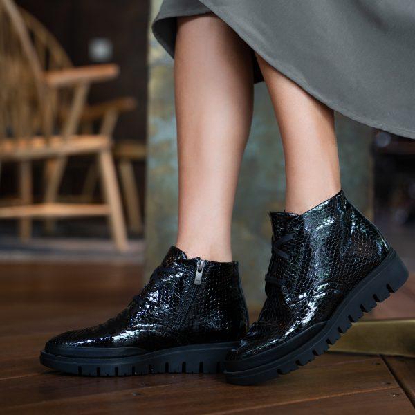 נעליים חצאיות עם רוכסן בצ