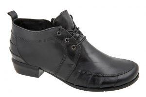 נעל חצאית שרוך עקב נמוך